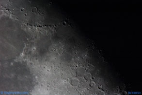 Close up of Moon