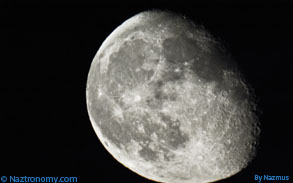 Moon on August 24, 2013