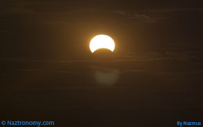 Solar Eclipse on Nov 3, 2013 from NYC