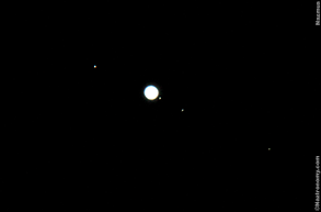Jupiter with its Galilean Moons