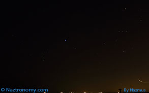Another look at Orion and Sirius