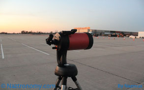 Telescope at the Jones Beach Parking Lot